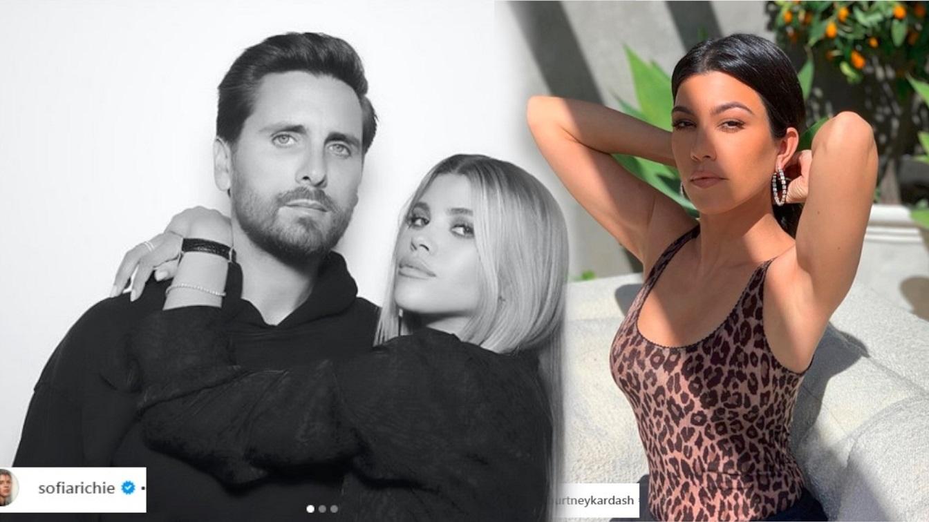 Scott Disick celebrował urodziny z Sofią Richie i Kourtney Kardashian