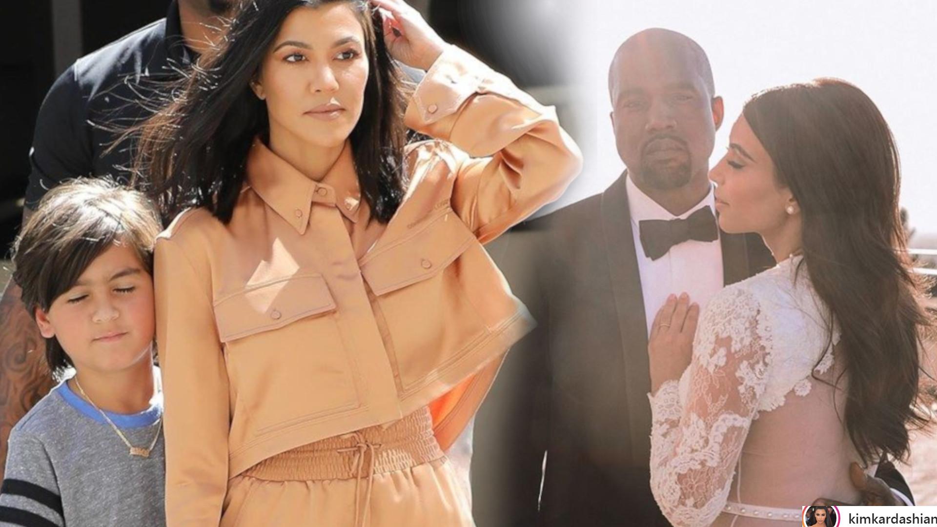 Kourtney Kardashian pokazała zdjęcie syna zrobione przed weselem Kim i Kanye – był takim małym chłopcem!