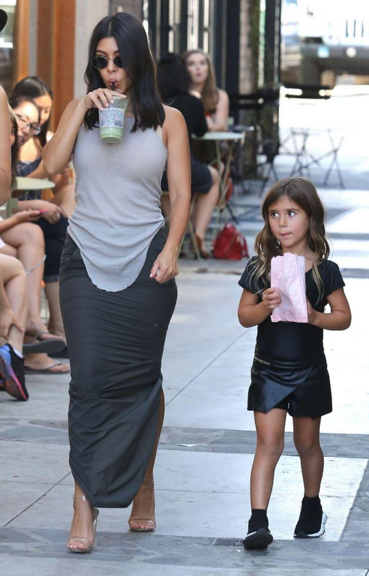Kourtney Kardashian z Penelope