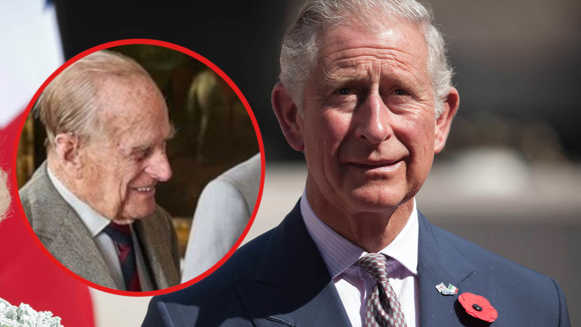 SZOKUJĄCA reakcja księcia Filipa na narodziny syna