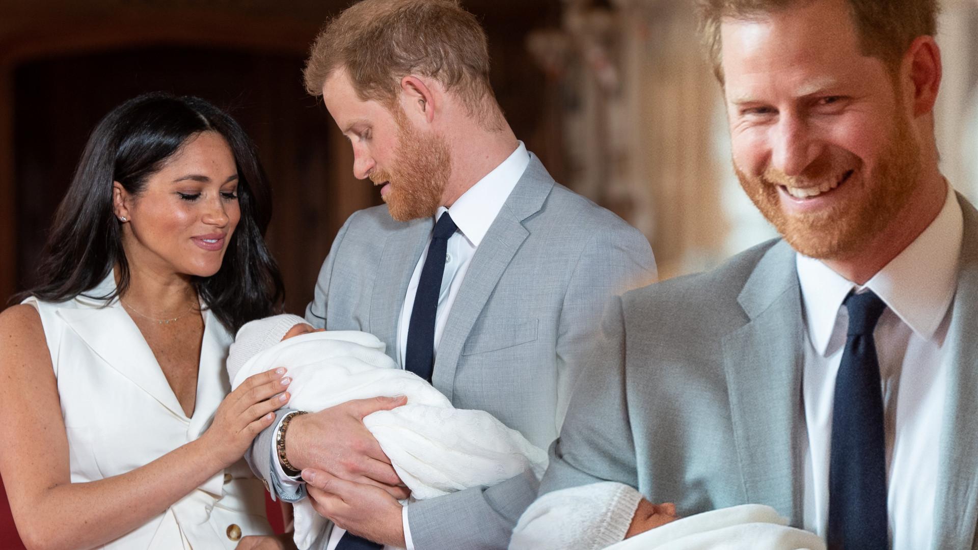 Książę Harry wyszeptał te słowa do księżnej Meghan, gdy pierwszy raz wyszli z synem