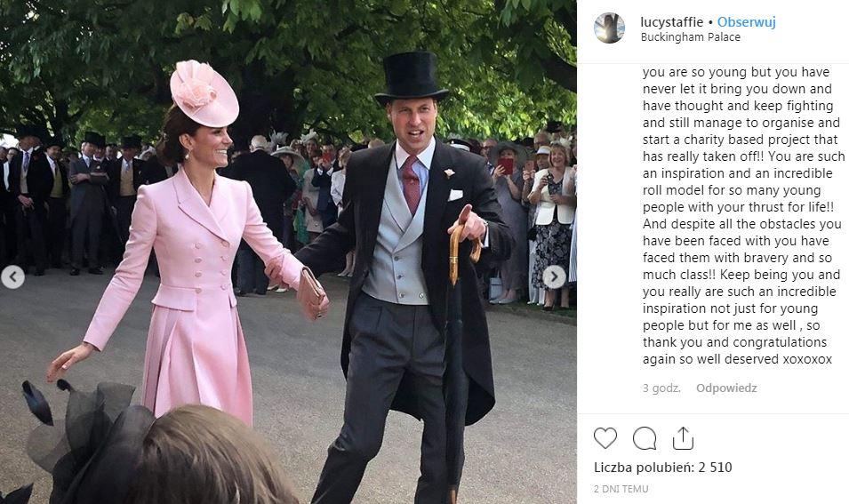 księżna kate książę william taniec