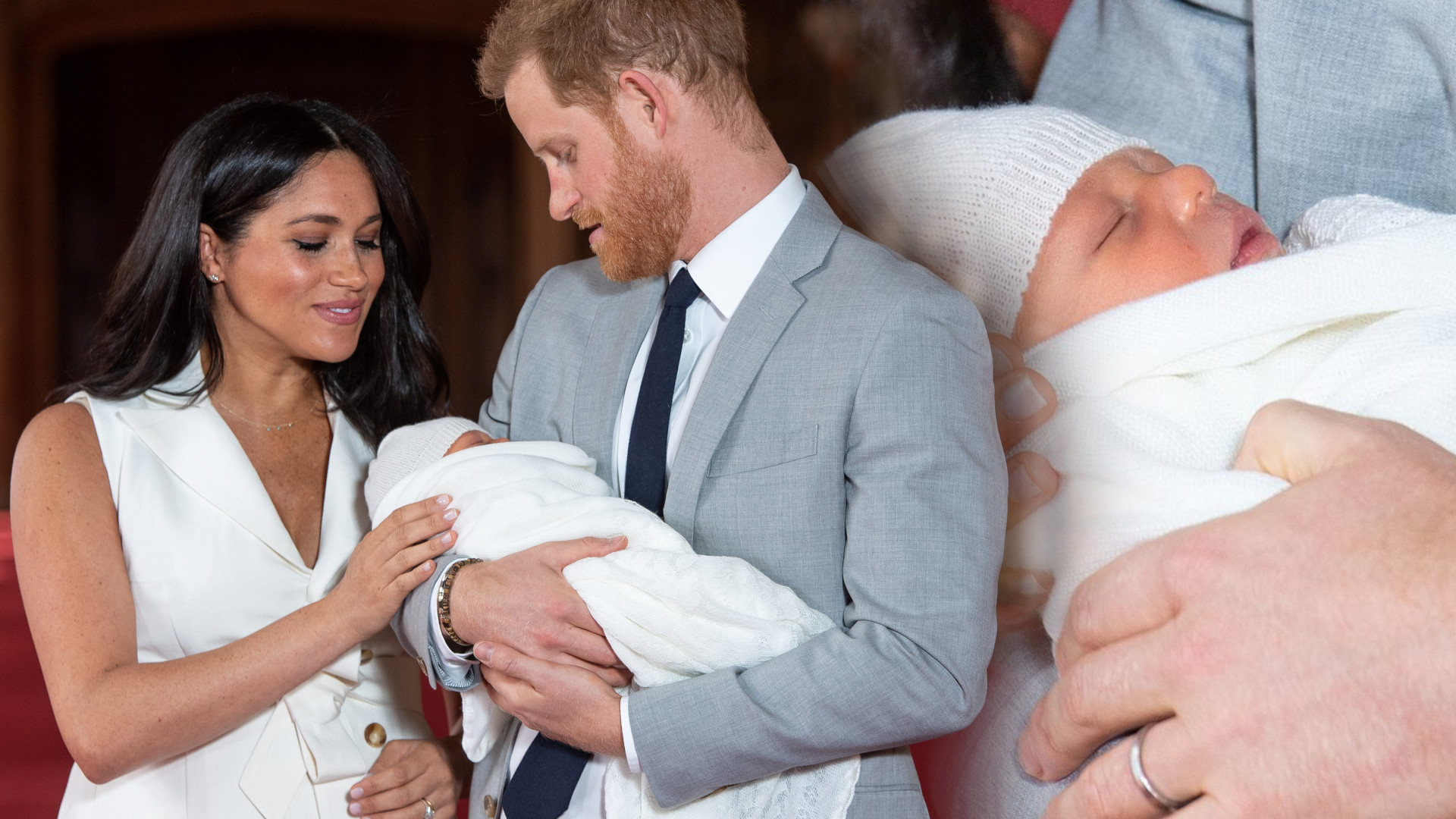 Syn księżnej Meghan i księcia Harry'ego jednak będzie księciem?