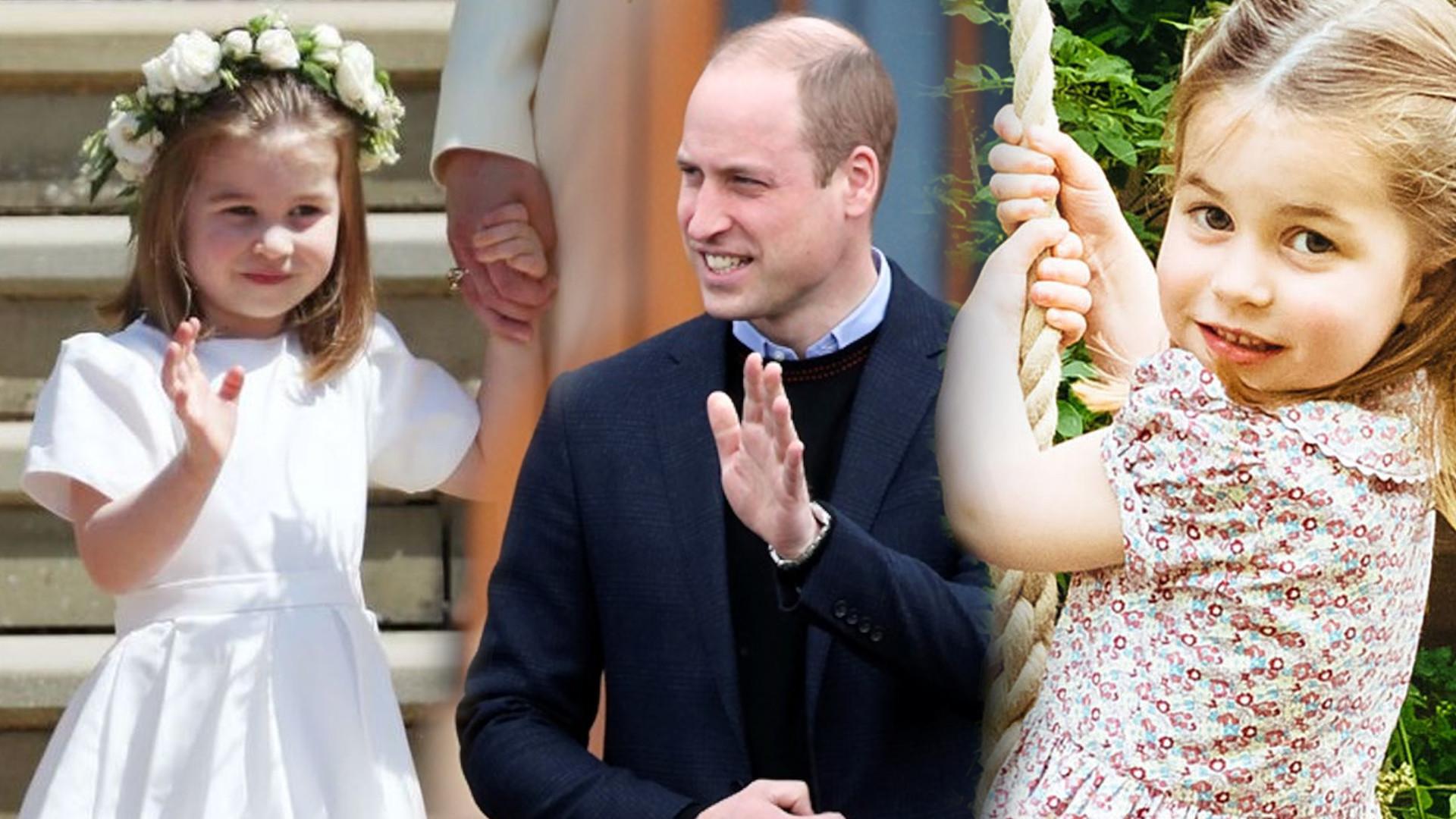 Książę William ma UROCZY przydomek dla księżniczki Charlotte