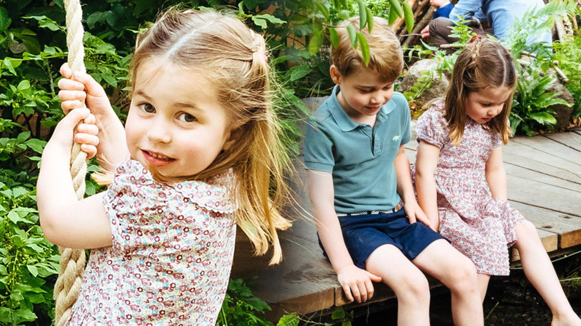 Księżniczka Charlotte RZĄDZI swoim starszym bratem, księciem Georgem – to video robi FURORĘ w sieci