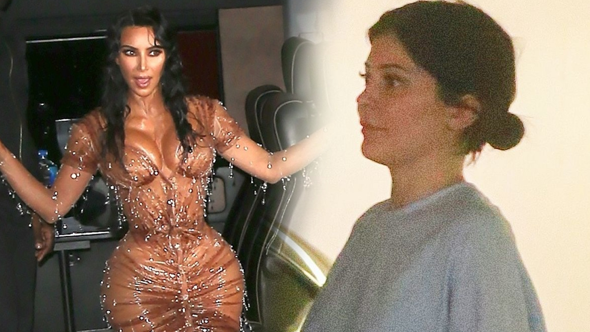 Kim Kardashian zrobiła coś, co Kylie Jenner wbiło w fotel