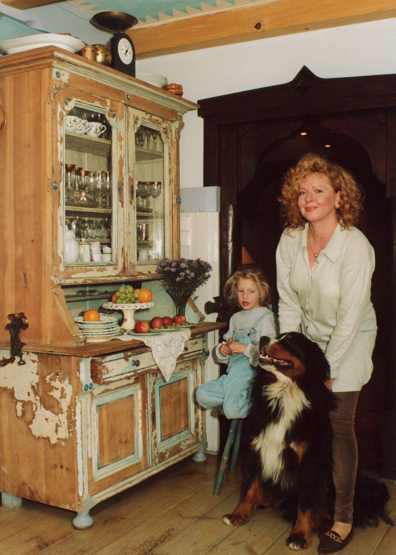 Magda Gessler na starych zdjęciach – tak wyglądała, gdy Lara była mała