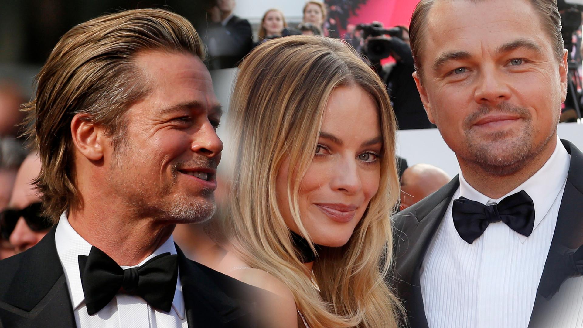 """Leonardo DiCaprio, Margot Robbie, Brad Pitt na premierze """"Pewnego razu… w Hollywood"""" (ZDJĘCIA)"""
