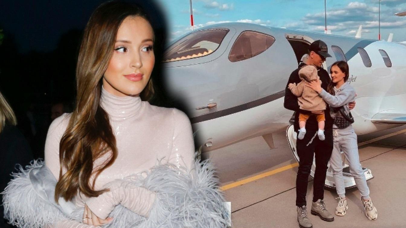 Marina Łuczenko-Szczęsna poleciała prywatnym samolotem na paznokcie do Polski? Wstawiła wymowne zdjęcie