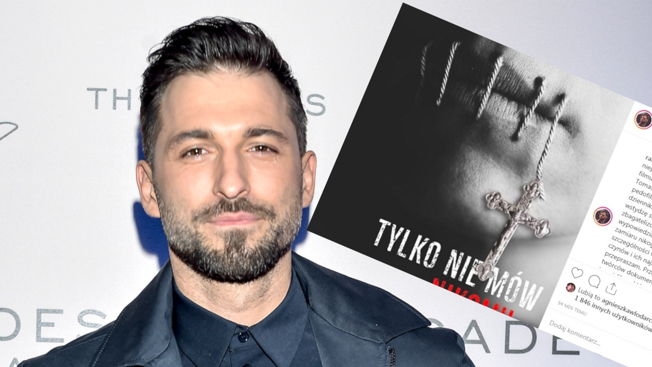 Rafał Maślak skrytykował film Sekielskiego. Teraz przeprasza: Bardzo żałuję wypowiedzianych słów