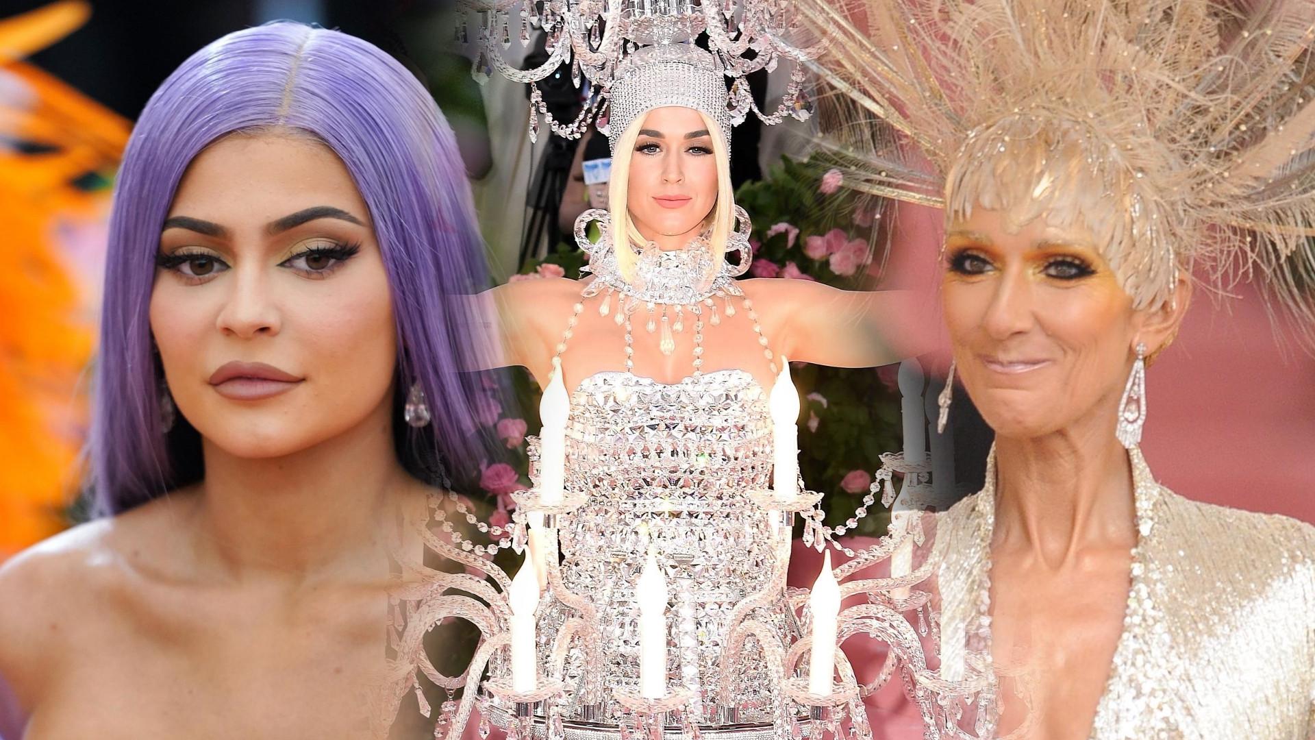 MET GALA 2019: Katy Perry jako żyrandol, Kylie Jenner jak lalka, a Gigi Hadid największą ZAGADKĄ gali (ZDJĘCIA)