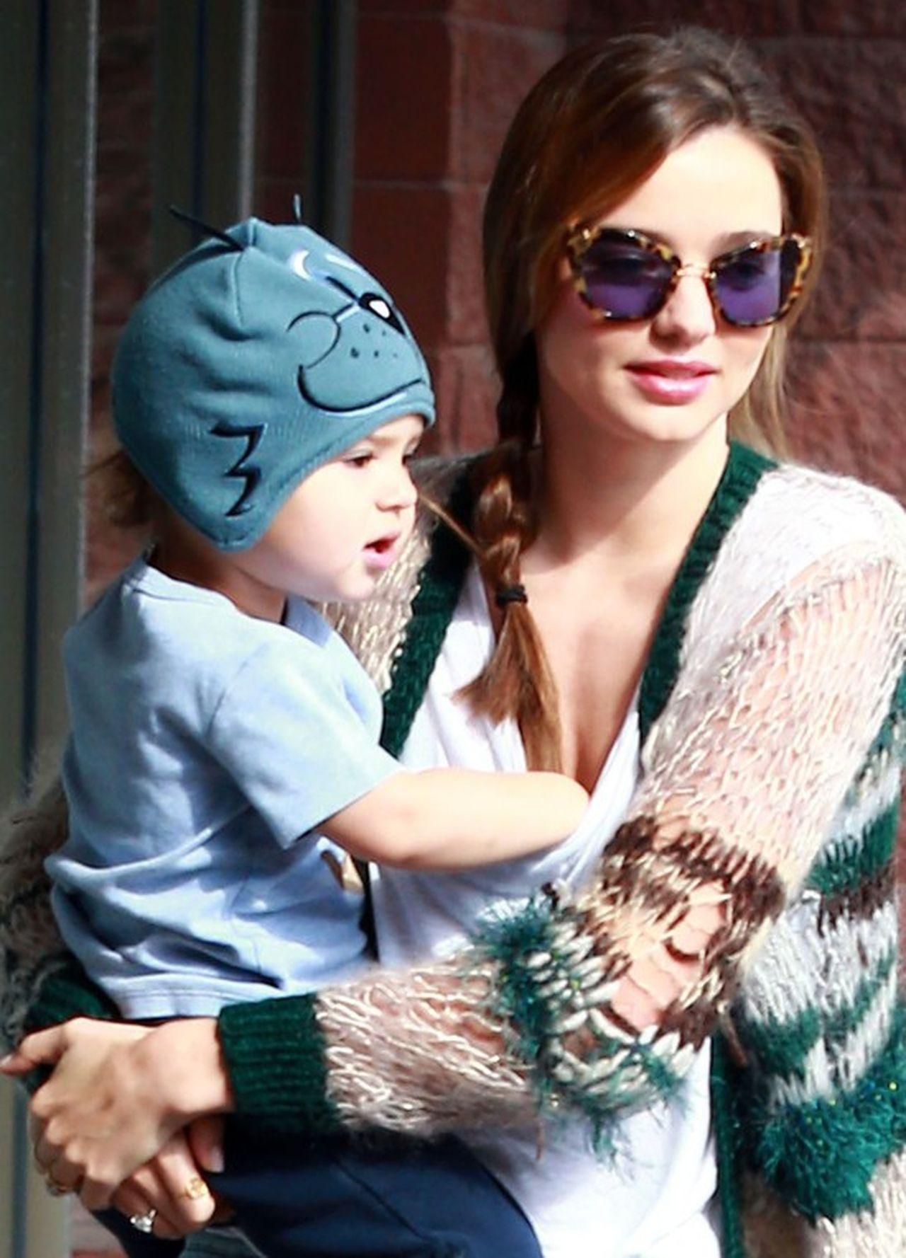 Miranda Kerr z synem