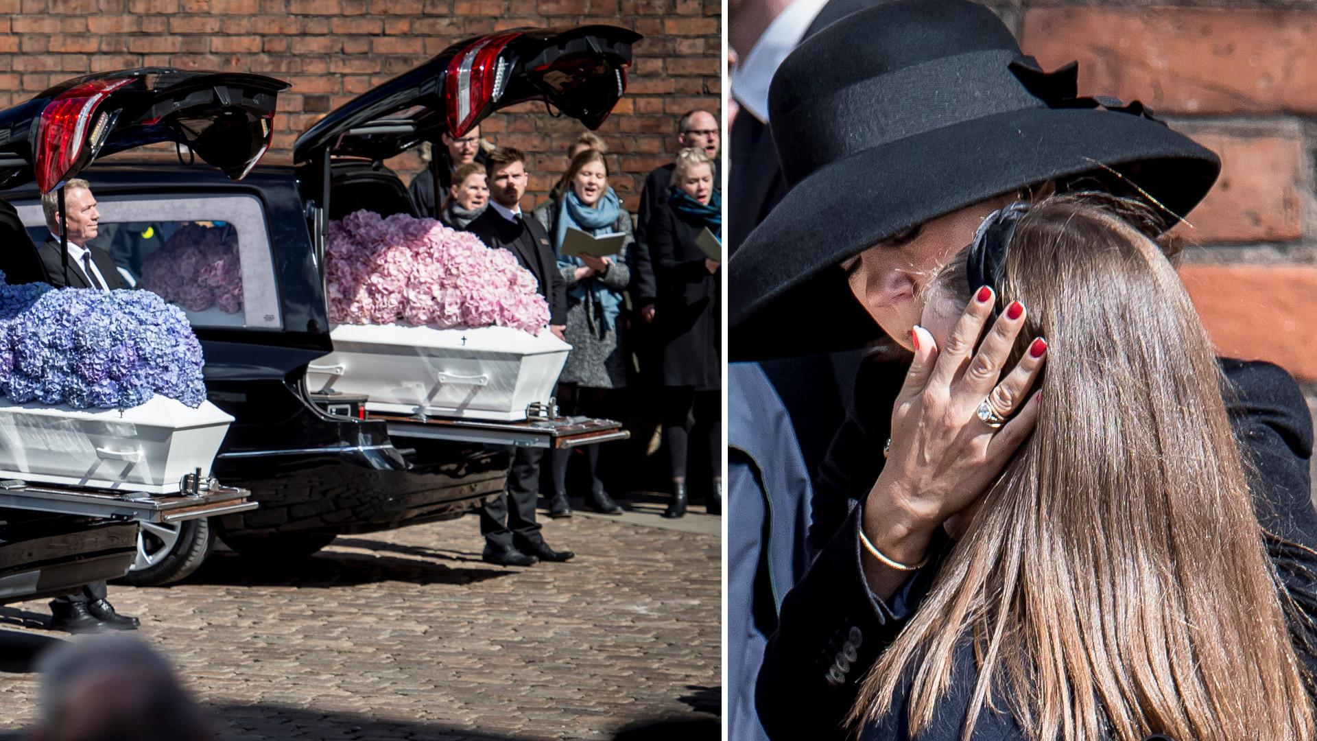 Pogrzeb trójki dzieci Andersa Holcha Povlsena. Alfred, Alma i Agnes zginęły w zamachu terrorystycznym na Sri Lance (ZDJĘCIA)