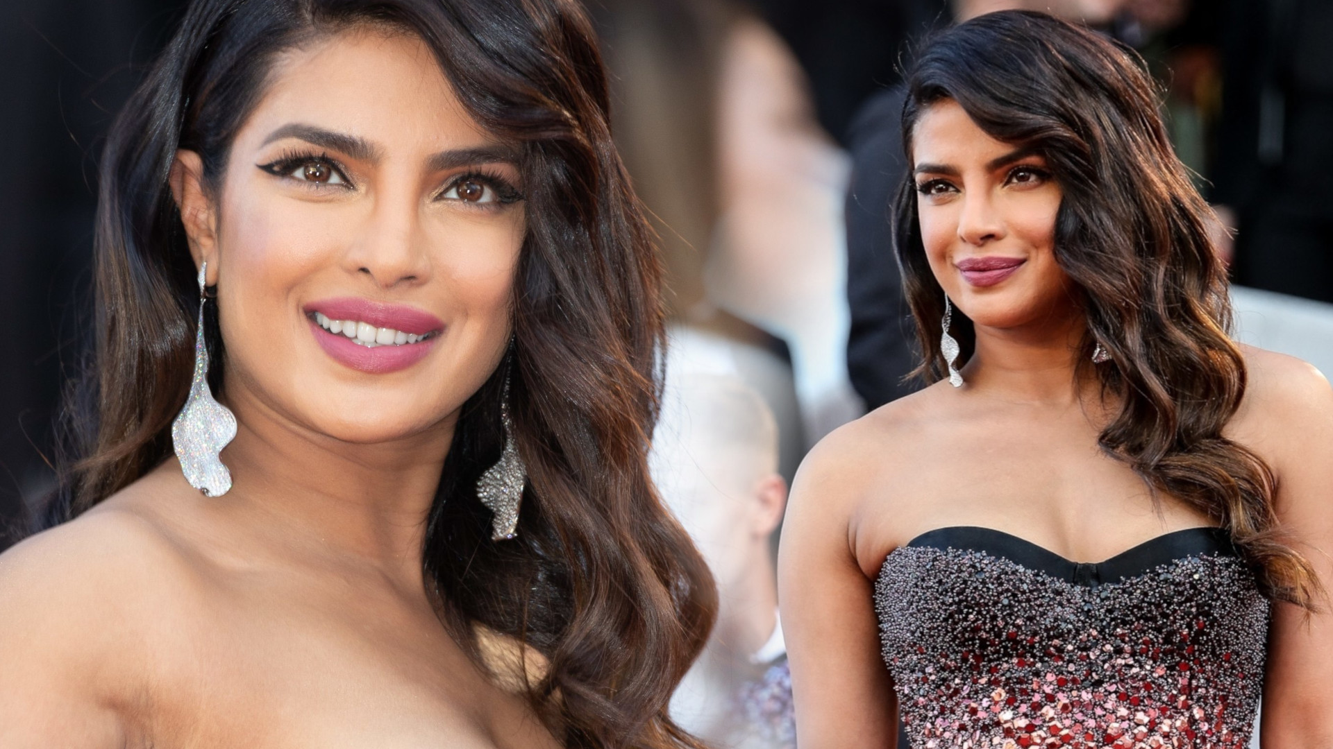 Priyanka Chopra w pięknej kreacji w Cannes – internauci dopatrzyli się CIĄŻOWEGO brzuszka