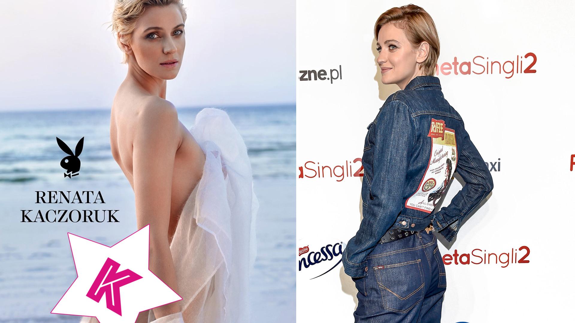 Grafik zaszalał z PUPĄ Renaty Kaczoruk na okładce Playboya? Była dziewczyna Kuby Wojewódzkiego rozebrała się dla magazynu