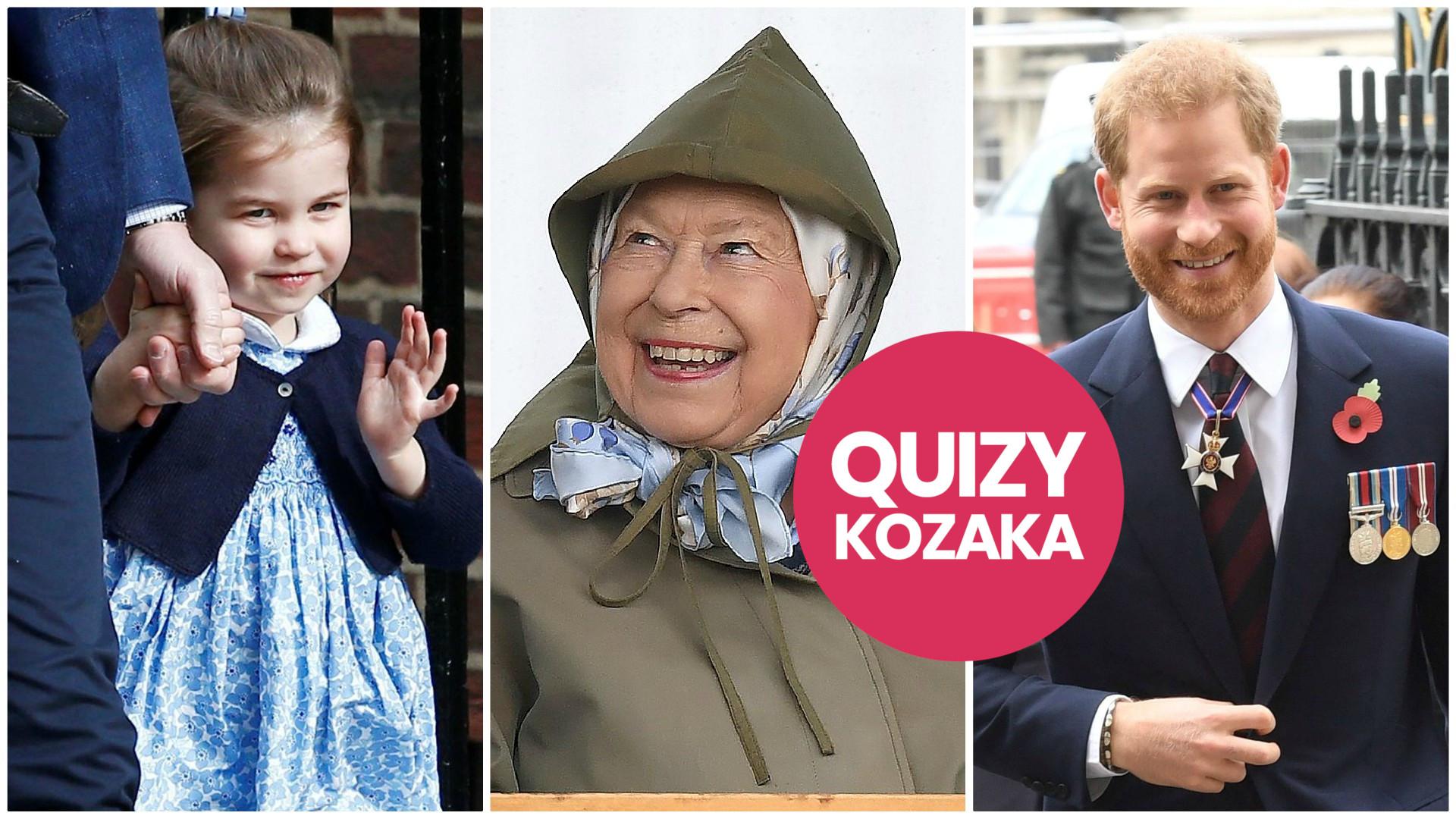 Kim z rodziny królewskiej jesteś? SPRAWDŹ! (QUIZ)