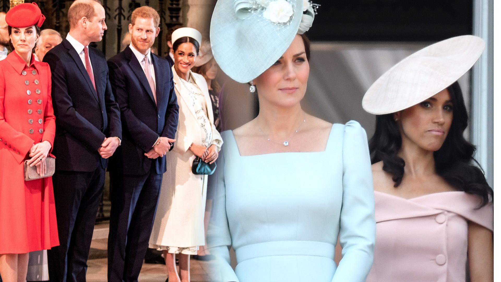 Meghan i Harry ODCINAJĄ się od Williama i Kate! Najpierw wyprowadzili się z Pałacu Kensington, a teraz…
