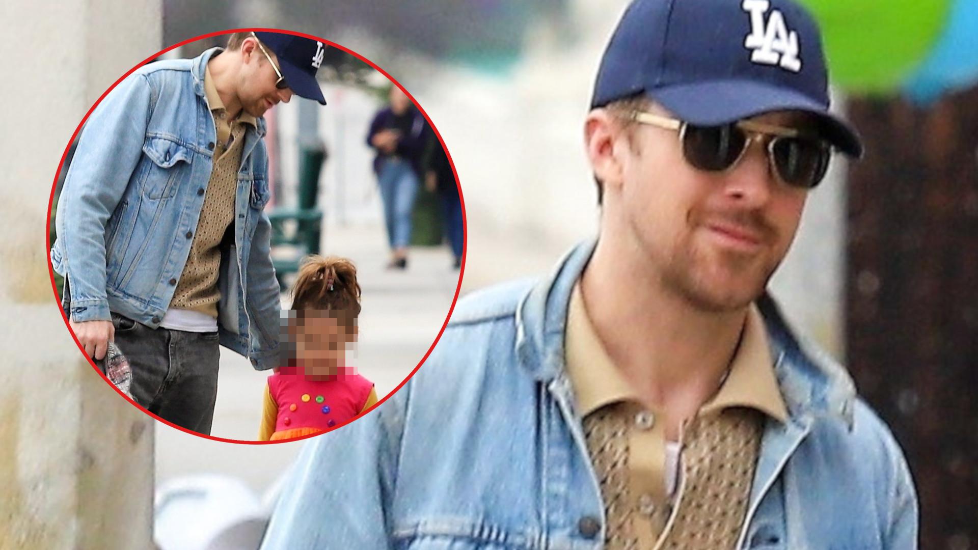 Ryan Gosling to przykładny ojciec – tak OPIEKUJE się swoją 5-letnią córką Esmeraldą (ZDJĘCIA)