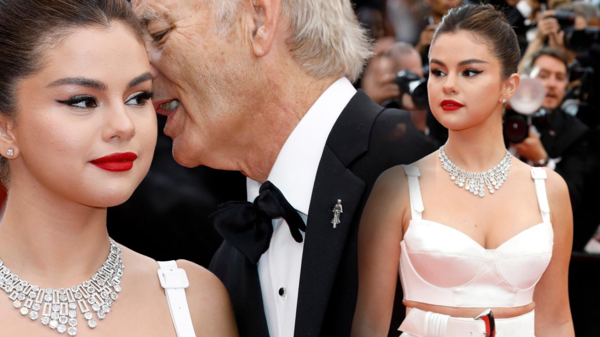 Ludzie uznali, że Bill Murray niestosownie dotykał Selenę Gomez w Cannes – skomentowała jego zachowanie