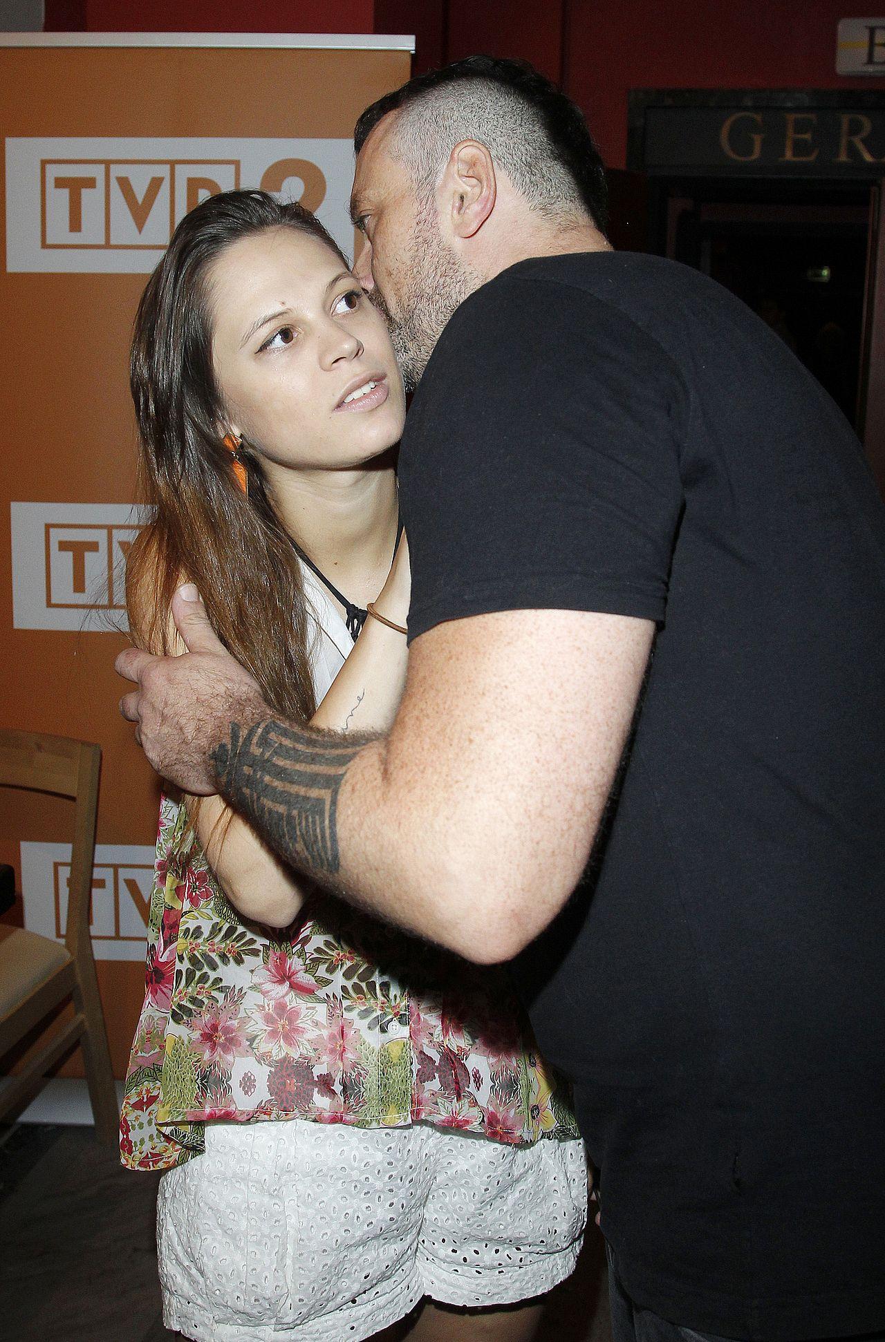 Tymon Tymański z żoną Marią