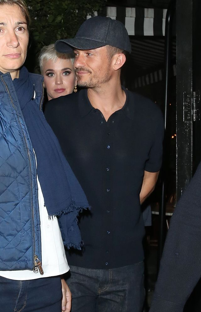 Katy Perry & Orlando Bloom At The Firehouse / WEIRPHOTOS / BACKGRID , kod: