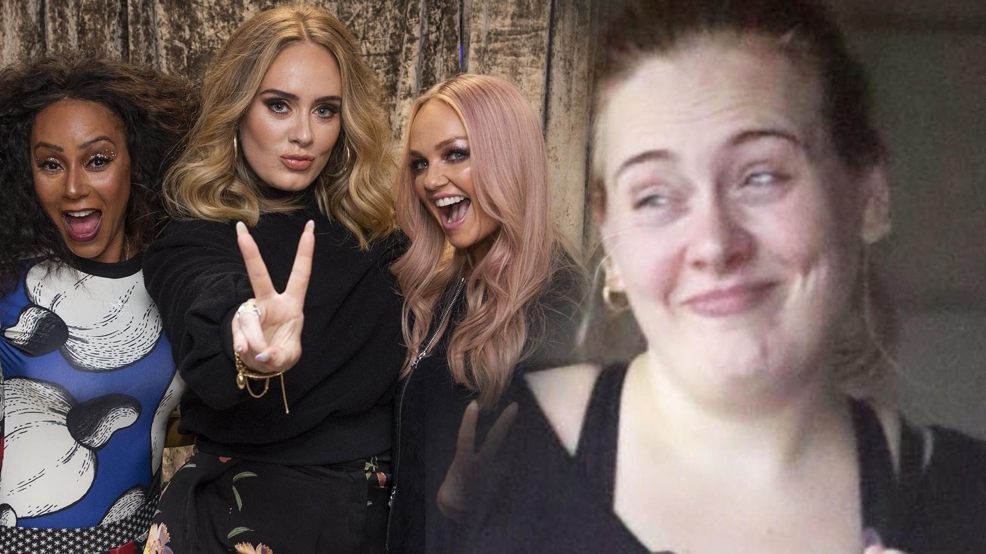 Adele SCHUDŁA po rozwodzie z Simonem Koneckim – na koncercie Spice Girls pochwaliła się nową figurą