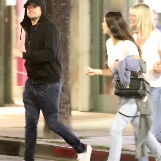 *EXCLUSIVE* Leonardo DiCaprio and Camila Morrone go on a low key dinner date in Los Feliz Leonardo DiCaprio, Camila Morrone