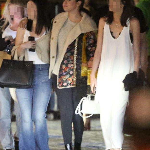 Selena Gomez leaves Nobu with her girlfriends Selena Gomez