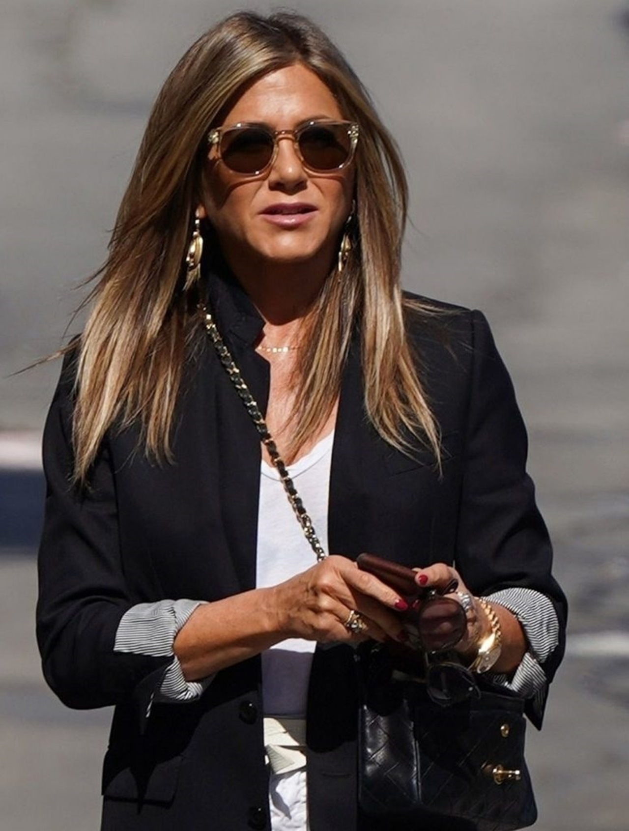 Jennifer Aniston makes an appearance on 'Jimmy Kimmel Live!' Jennifer Aniston
