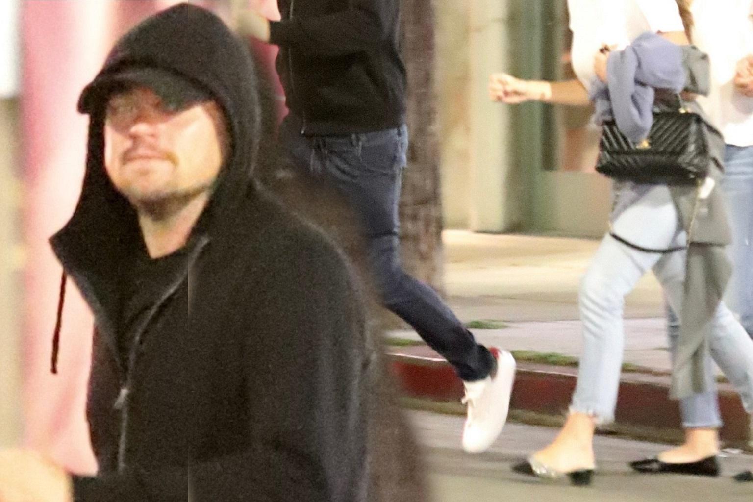 Leonardo DiCaprio na obiedzie z dziewczyną o 23 lata młodszą (ZDJĘCIA)