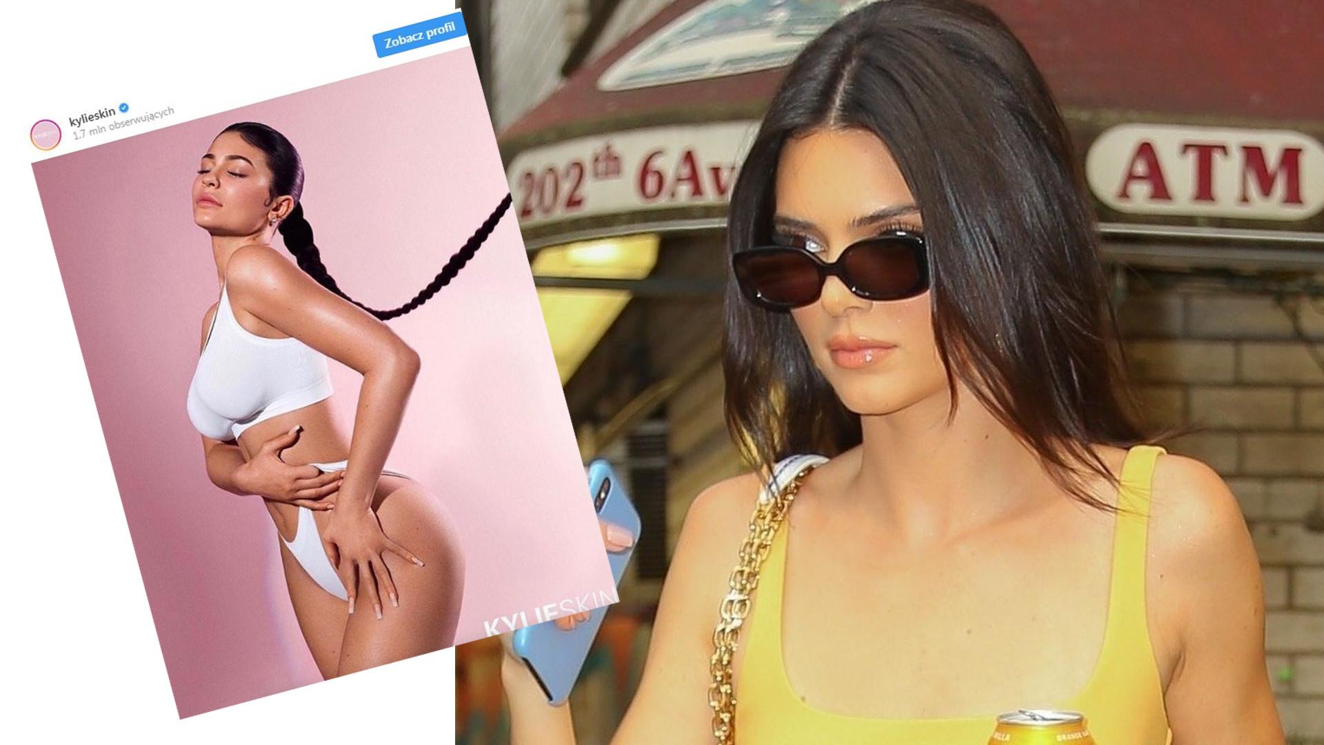 Zapytali Kendall Jenner, dlaczego nie używa kosmetyków marki jej siostry Kylie