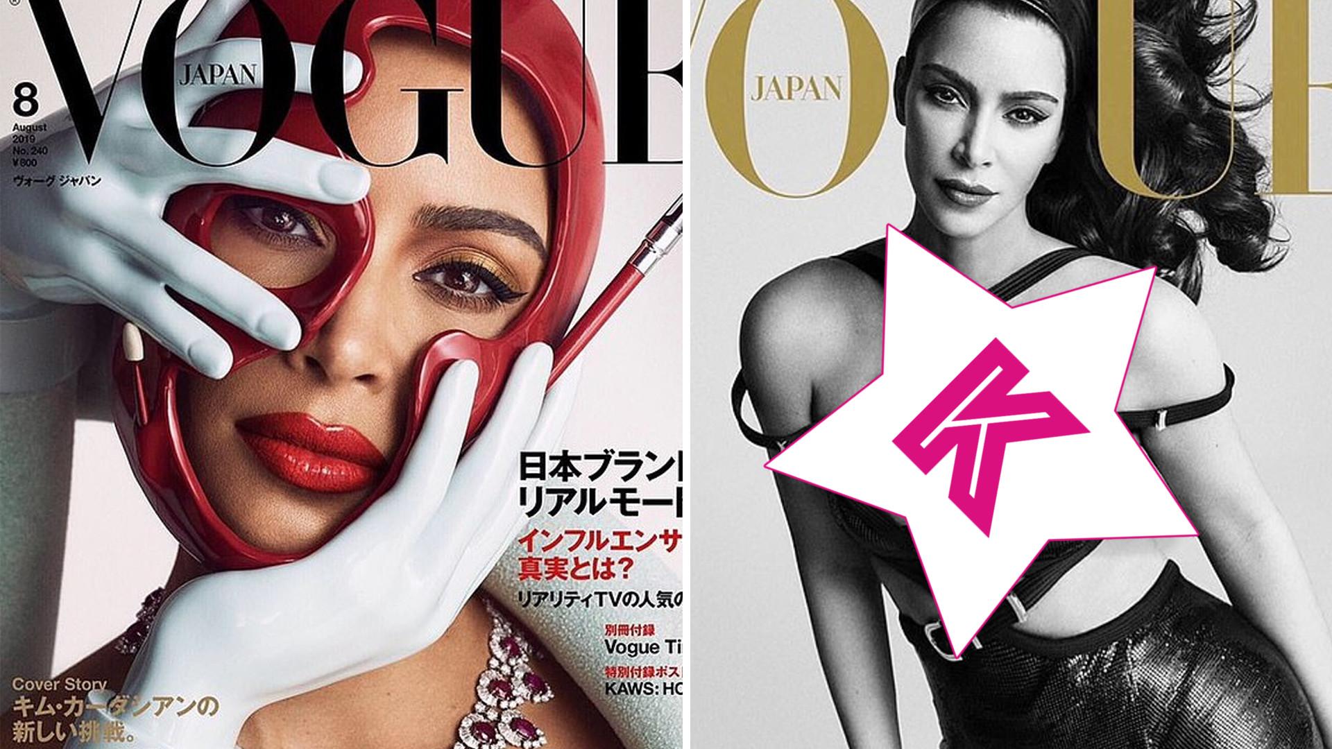 Niektóre modelki mogą o tym tylko pomarzyć – Kim Kardashian na TRZECH okładkach Vogue