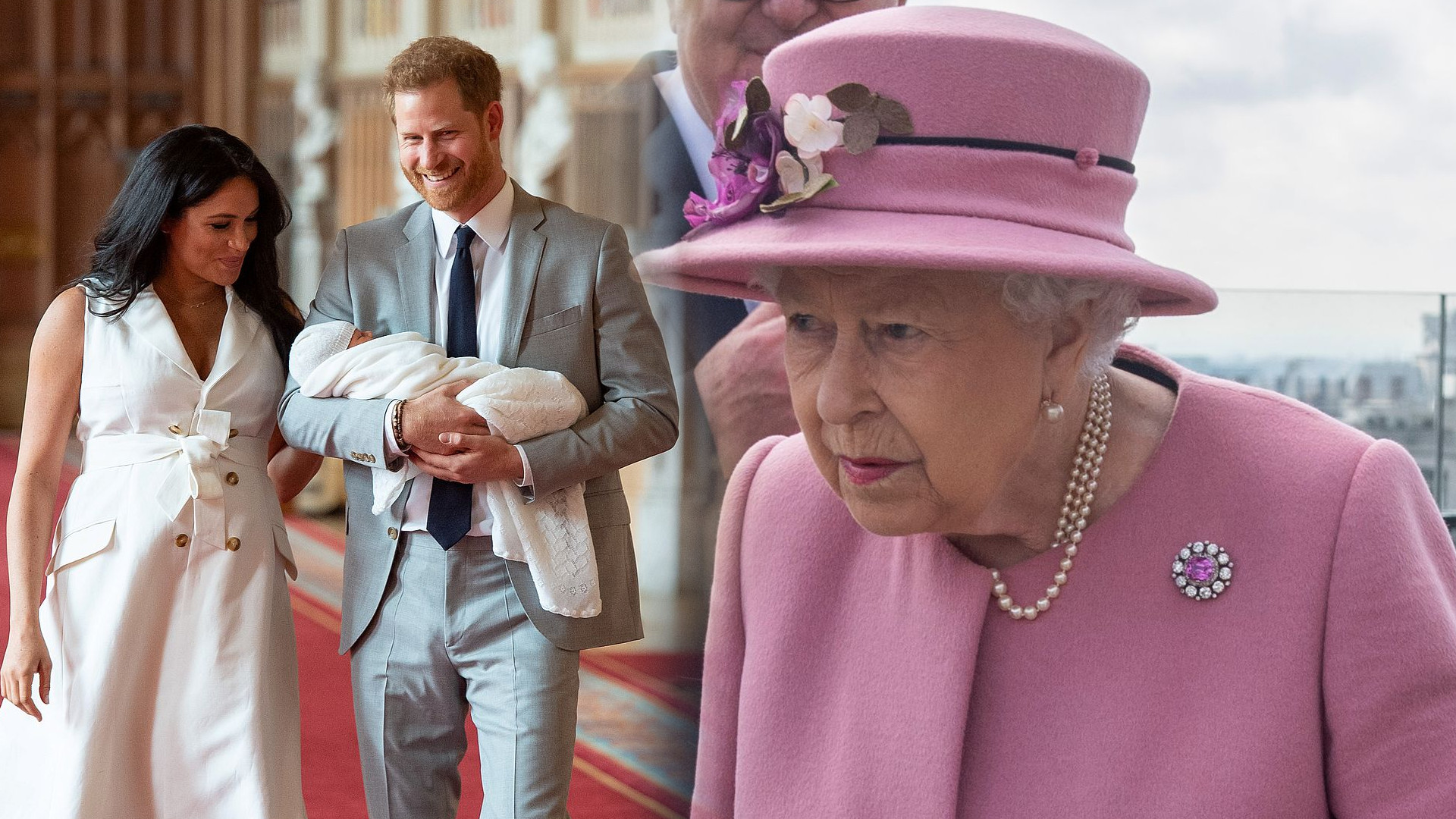 Królowa Elżbieta NIE POJAWI się na chrzcie Archiego