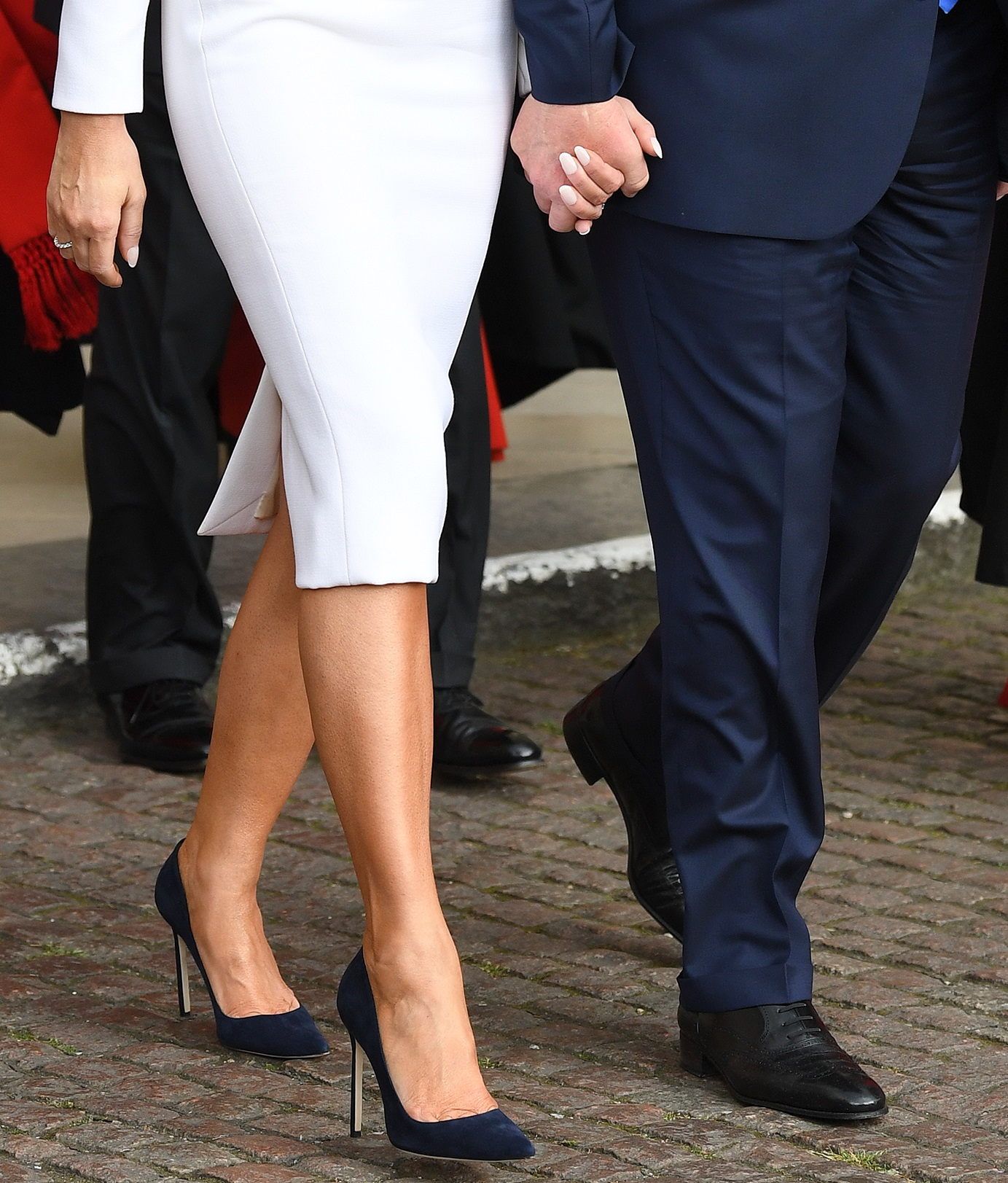 US President Donald Trump visits Westminster Abbey