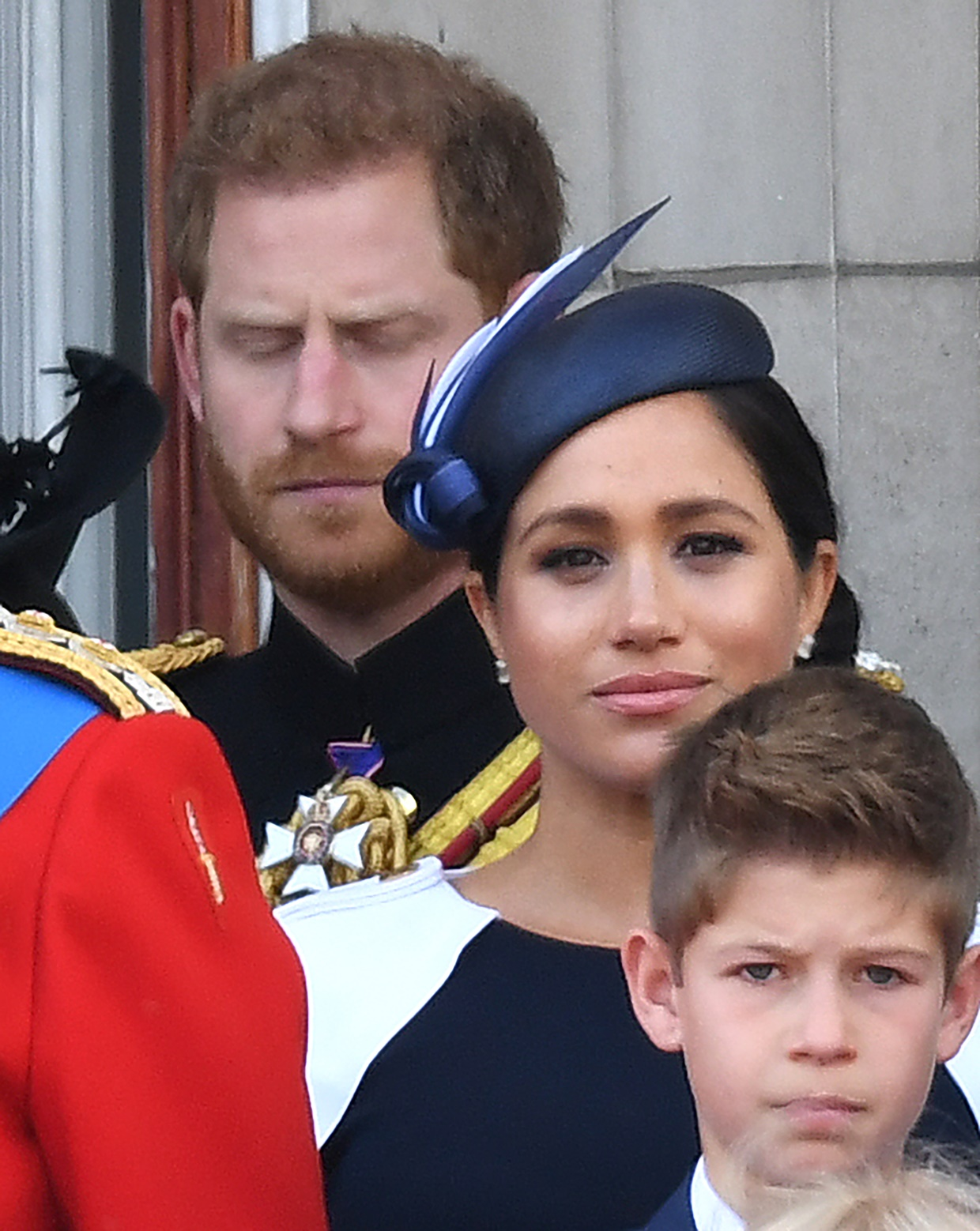 Prince Harry appears to tell Meghan to