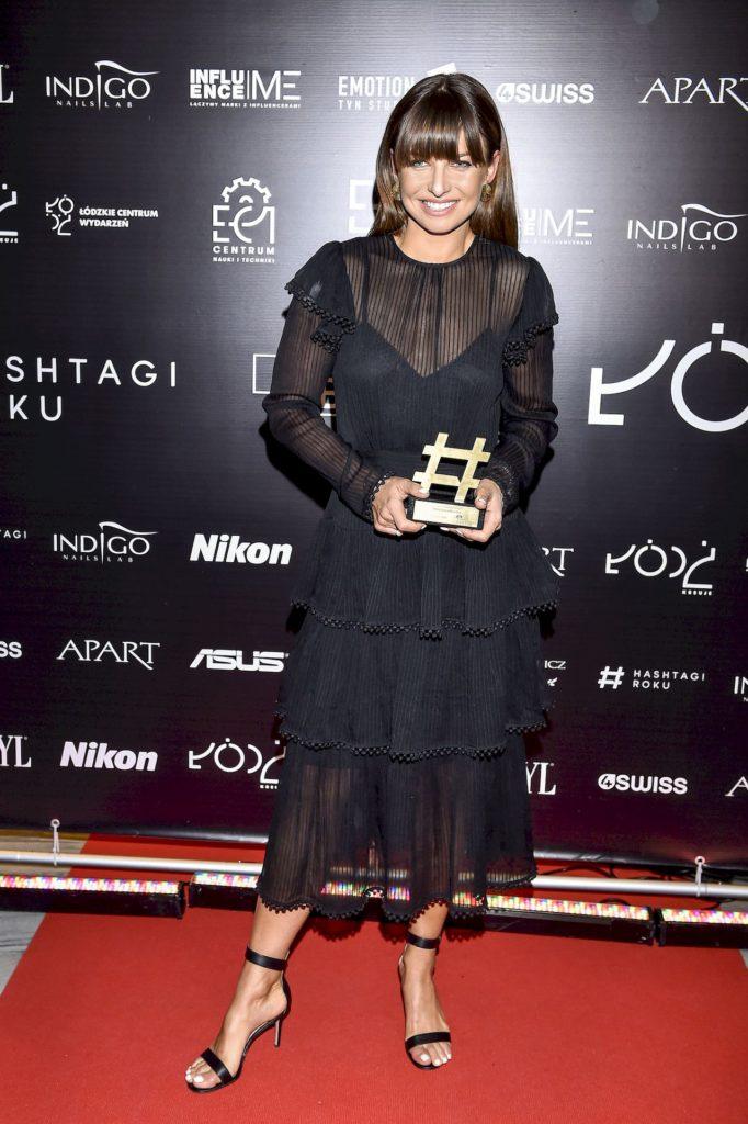 Anna Lewandowska na Gali Hashtagi Roku