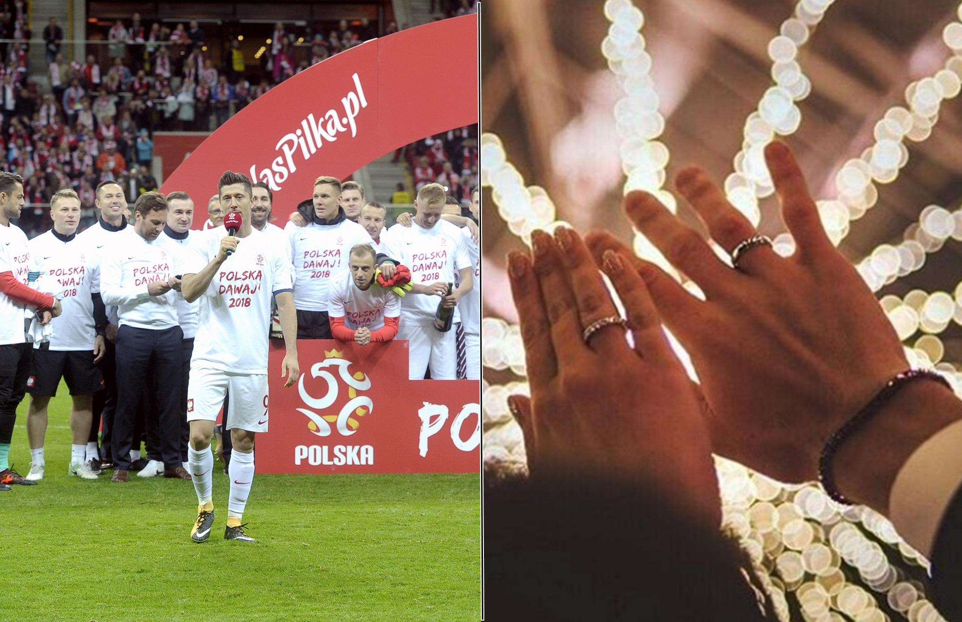 Dwóch znanych piłkarzy Reprezentacji Polski wzięło ślub w tym samym dniu! (ZDJĘCIA)