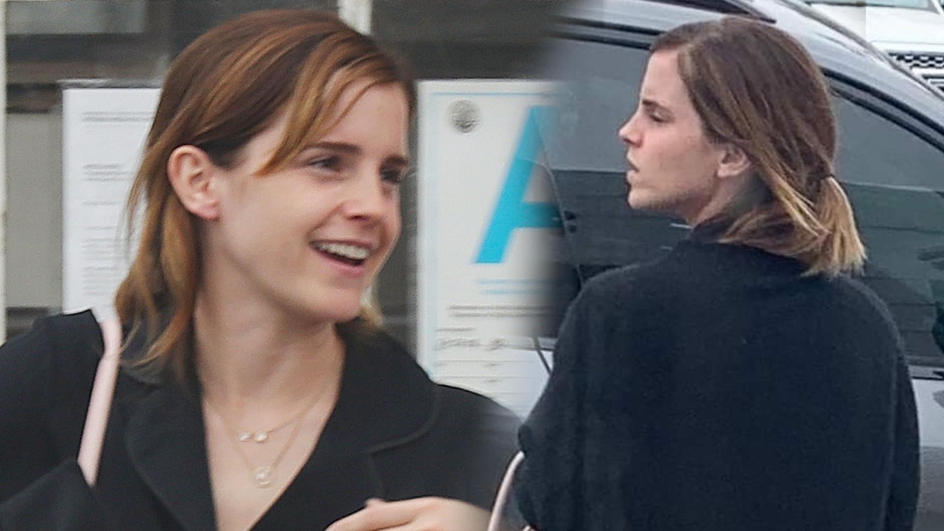 Emma Watson wygląda kiepsko. Gwiazda bez makijażu, w niechlujnym stroju (ZDJĘCIA)