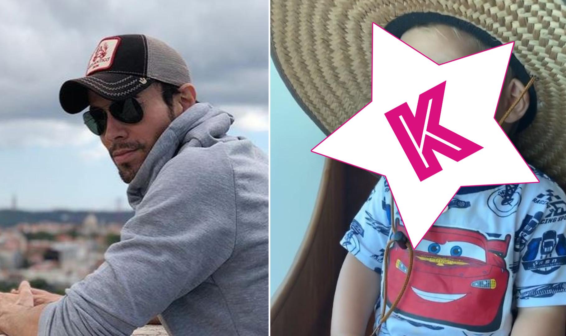 Enrique Iglesias pokazał synka – to blondyn z niebieskimi oczami! Niepodobny do taty