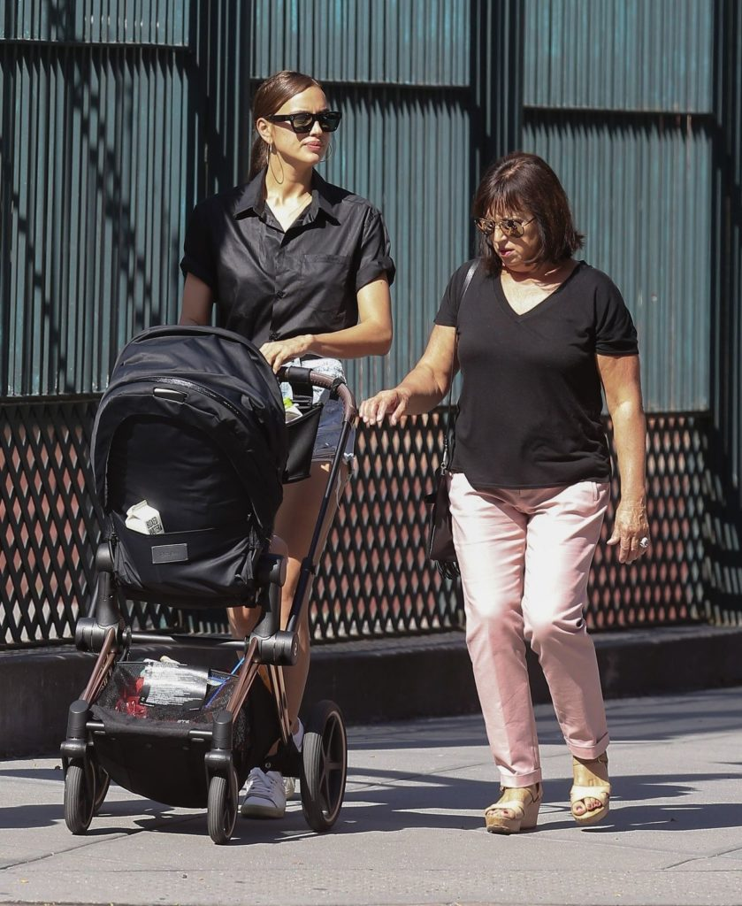 Irina Shayk z mamą