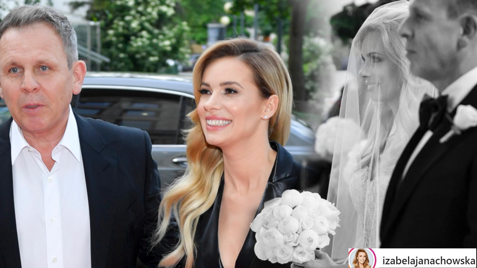 Izabela Janachowska i Krzysztof Jabłoński świętują 5. rocznicę ślubu. Gwiazda pokazała MNÓSTWO zdjęć z ceremonii
