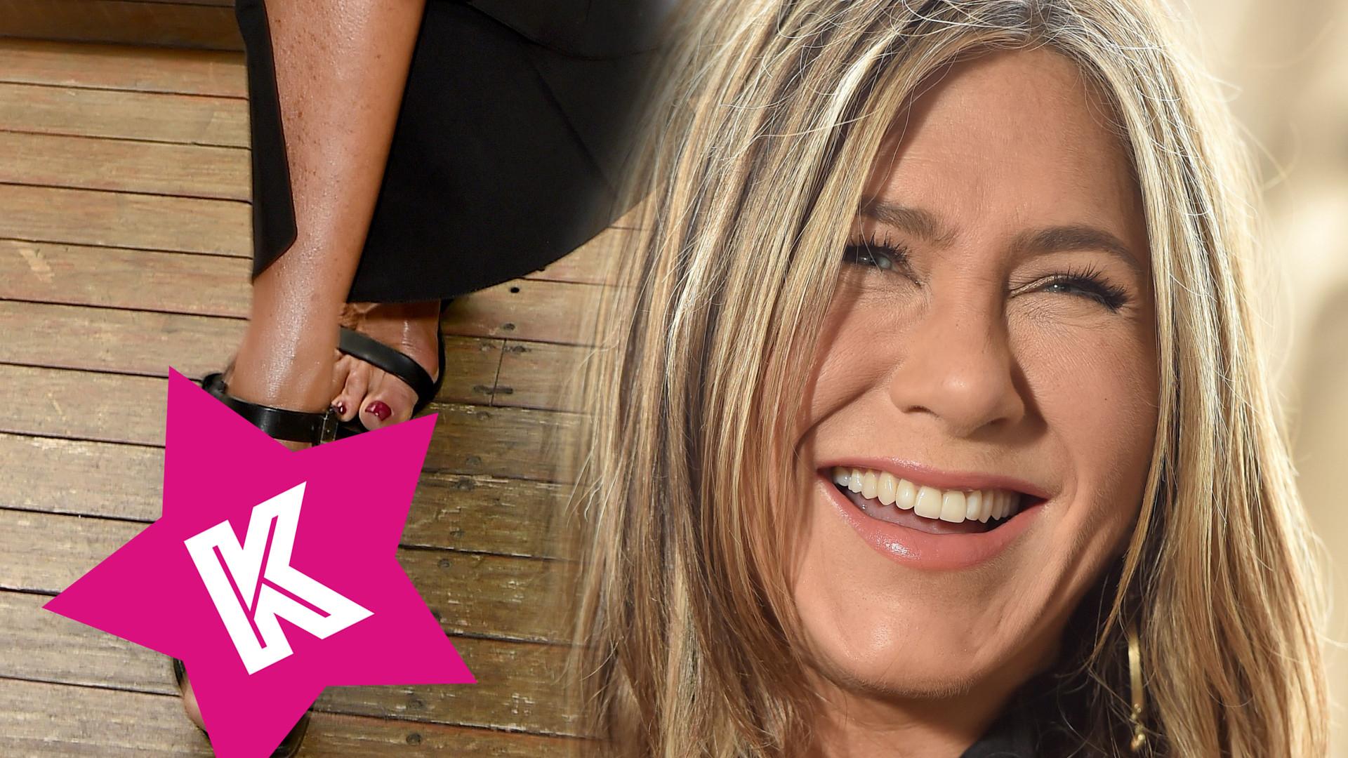 Nie uwierzycie, co Jennifer Aniston miała na stopie podczas premiery! (ZDJĘCIA)