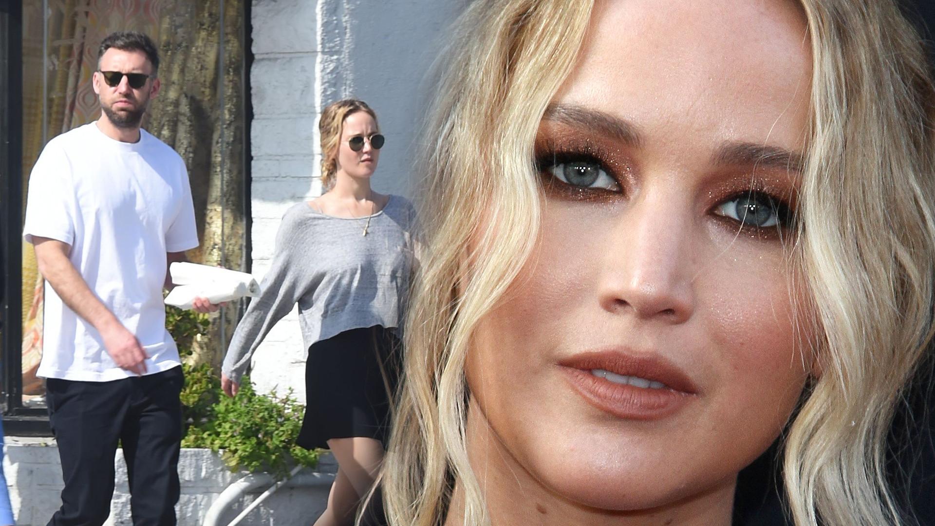 Jennifer Lawrence pierwszy raz tak szczerze o swoim narzeczonym!