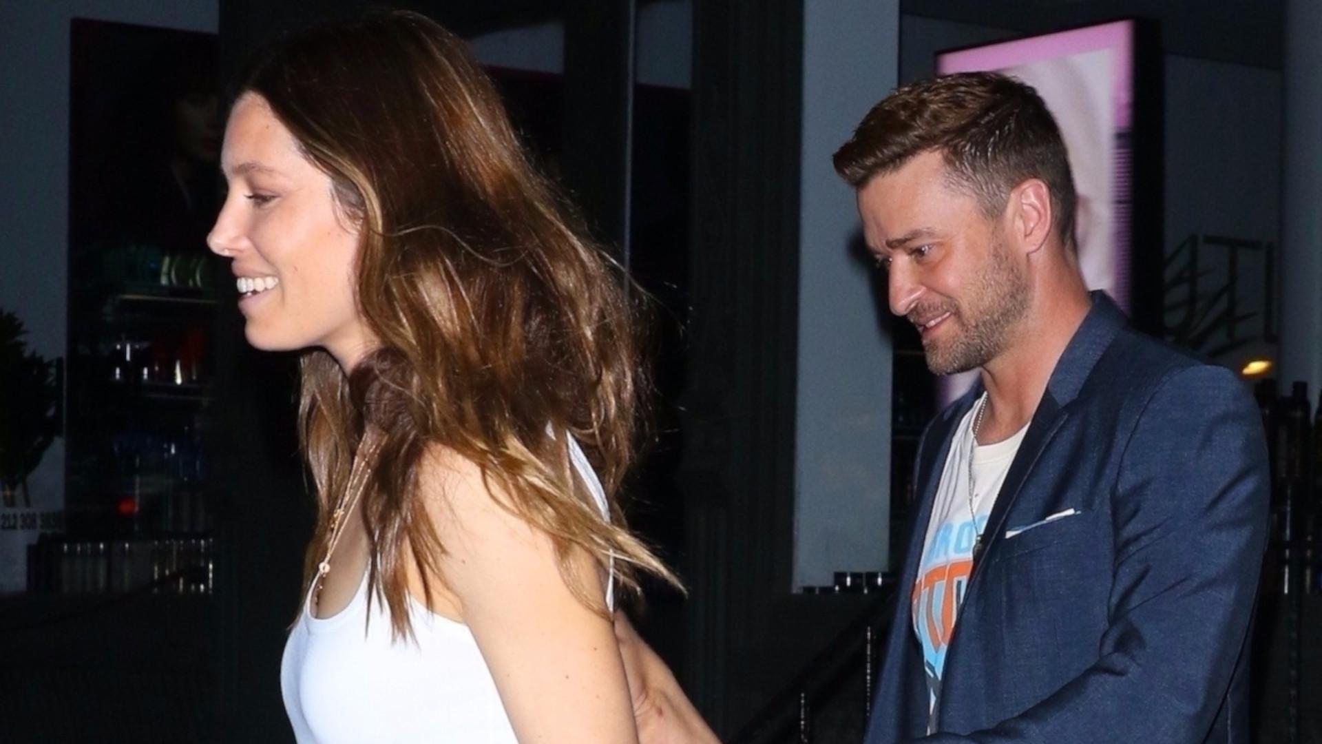 Ale ZAKOCHANI! Justin Timberlake i Jessica Biel na randce (ZDJĘCIA)