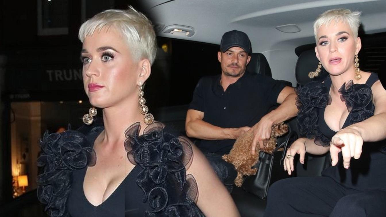 Katy Perry jest w ciąży? Kreacja nie dała rady zakryć jej brzucha
