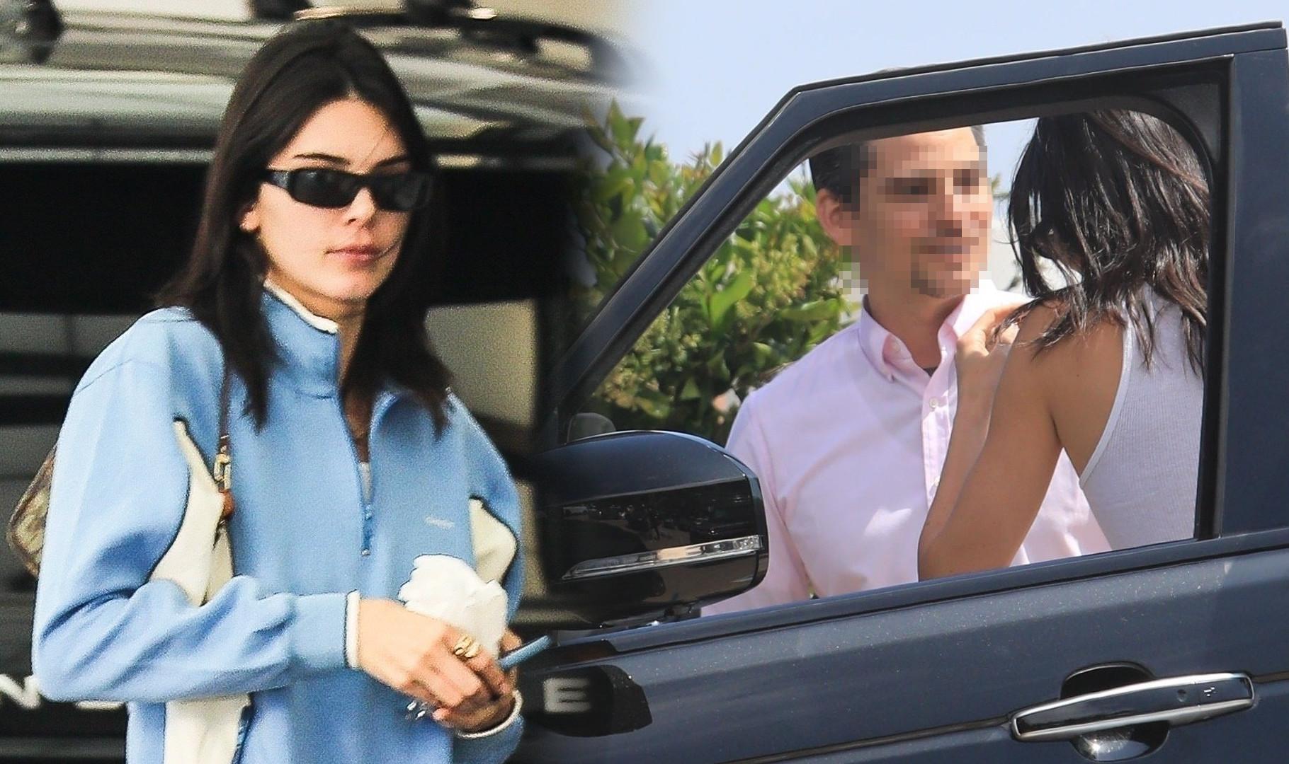 Karygodne zachowanie Kendall Jenner na parkingu (ZDJĘCIA)