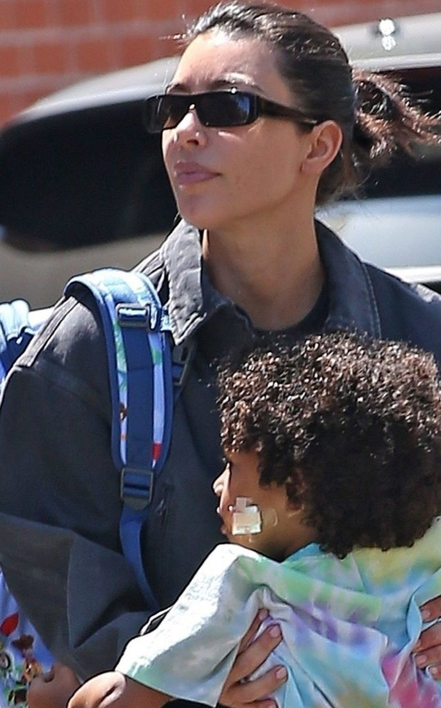 Kim Kardashian z synem Saintem