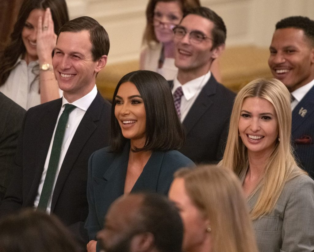 Kim Kardashian i Ivanka Trump