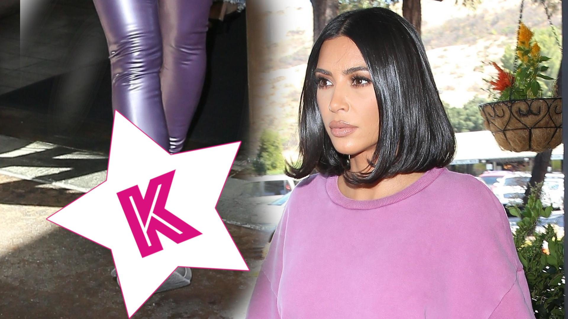 Po wyjściu z Białego Domu Kim Kardashian wskoczyła w luźne ciuszki. Tylko te… BUTY (ZDJĘCIA)