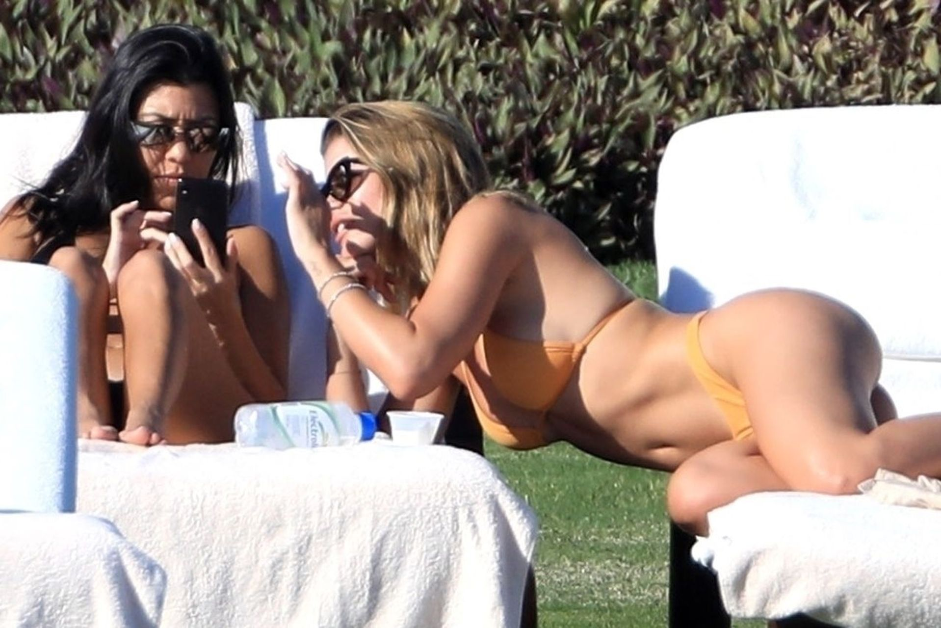 Kourtney Kardashian,Sofia Richie